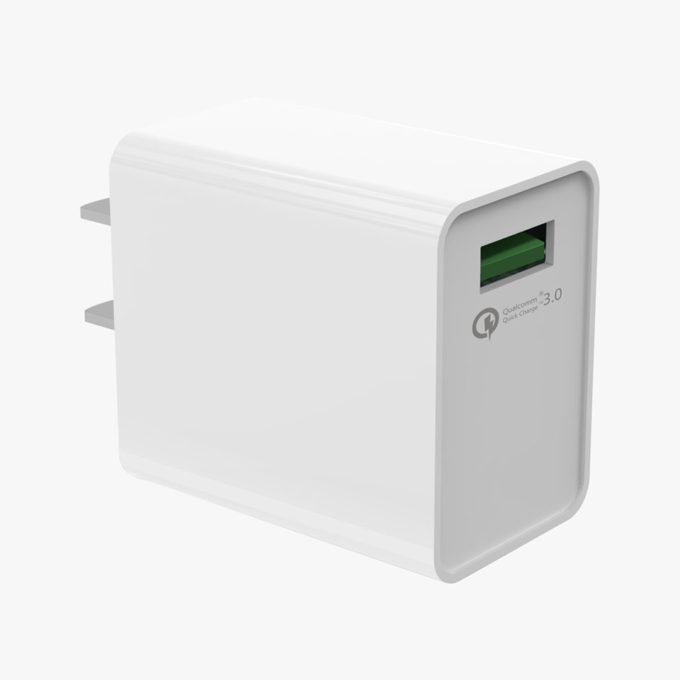 C012-qualcom-3.0-wall-charger-white